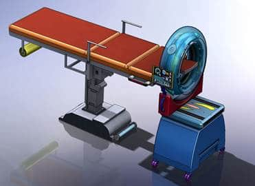 VEC's Mobile Head CT System