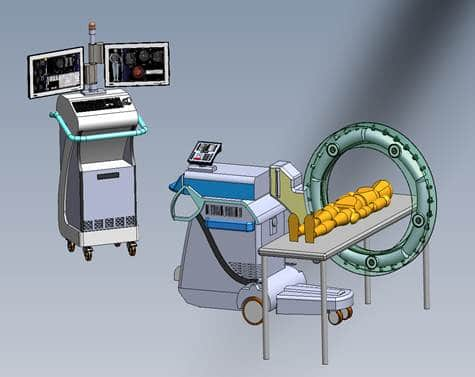 VEC's Mobile Chest/Abdomen CT System