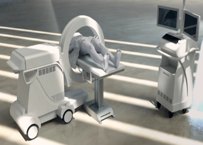 Portable Full-Body CT Scanner with Static Gantry